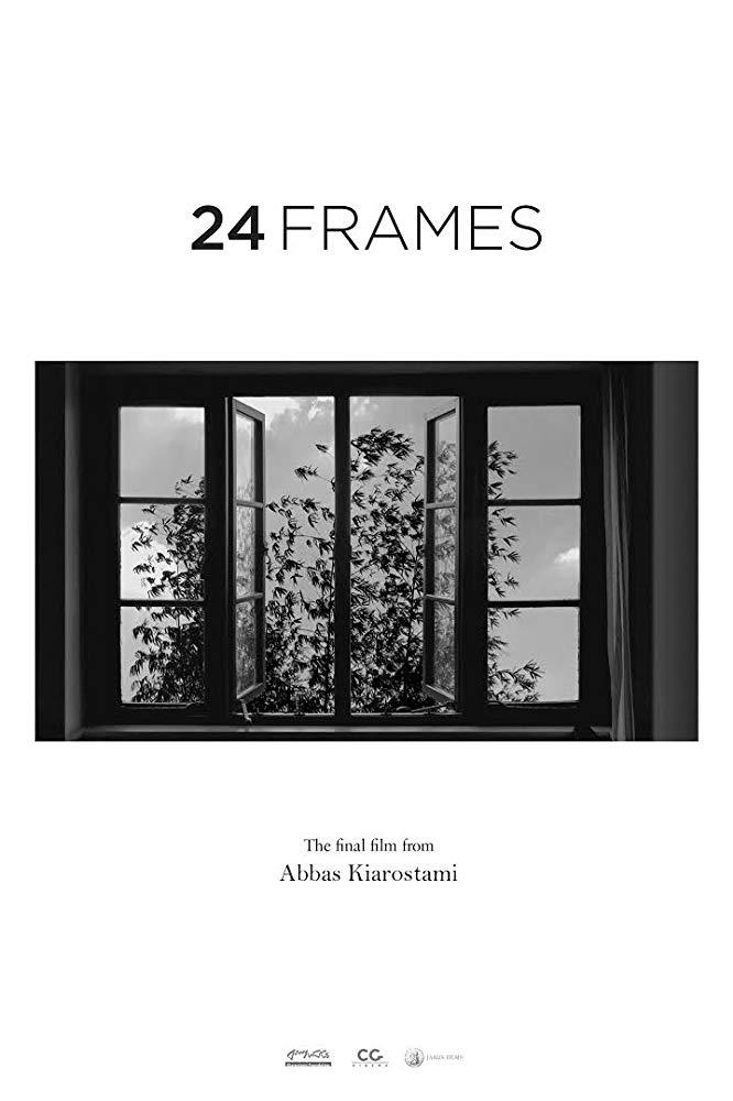 24 Frames Poster by Abbas Kiarostami